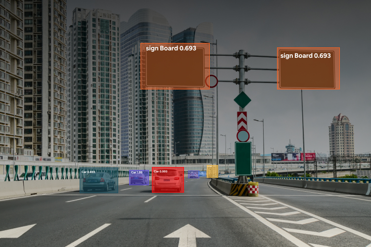 self driving object detection